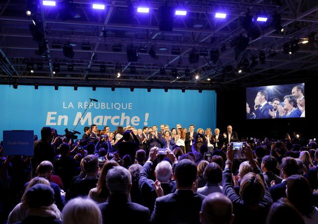 La République en marche, image d'illustration
