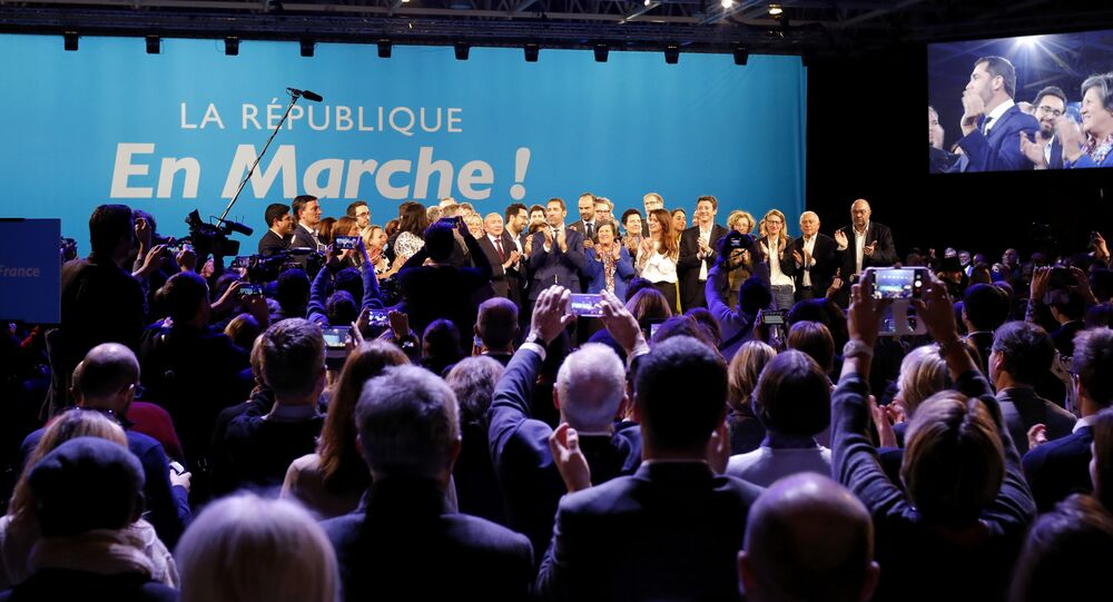 La République en marche, image d'illustration