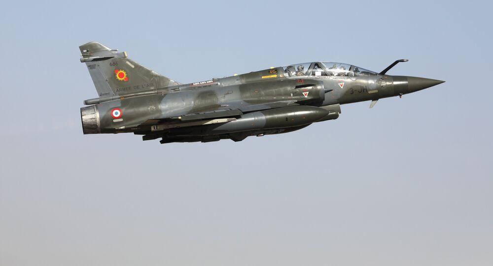 Un Mirage 2000D (image d'illustration)