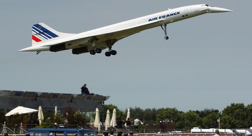 Un Concorde d'Air France (image d'illustration)