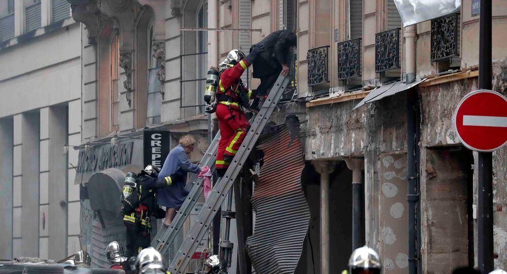 Explosion à Paris: un quatrième corps retrouvé sous les décombres