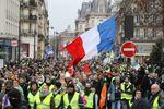 Gilets jaunes à Paris lors de lacte 9, le 12 janvier