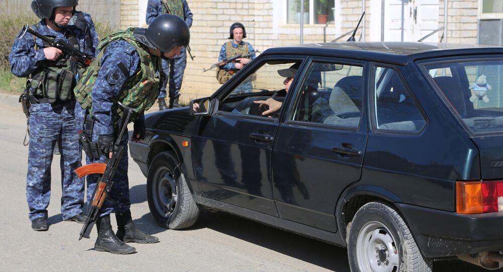 policiers en Daghestan (image d'illustration)