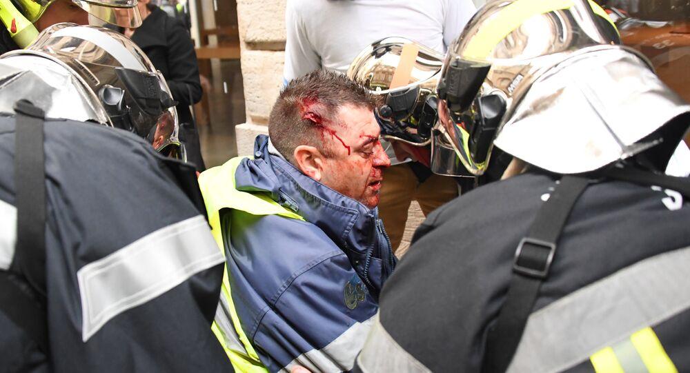 Un Gilet jaune blessé à Bordeaux