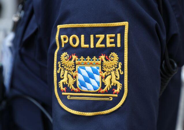 Police allemande, image d'illustration