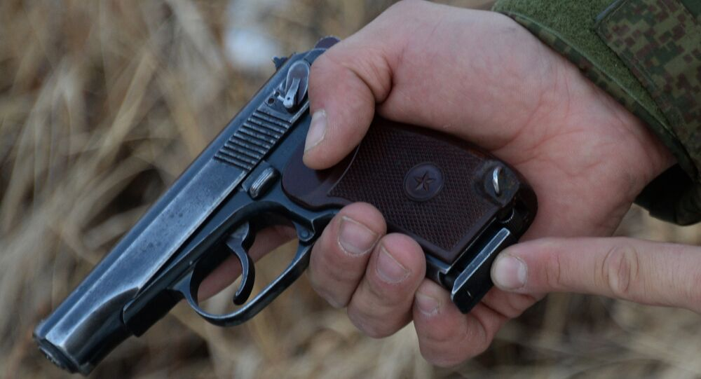 Pistolet russe Makarov