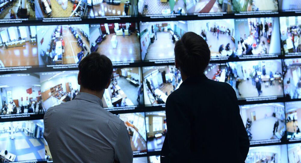 Les caméras de surveillance, image d'illustration