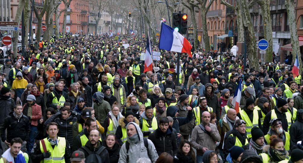 Gilets jaunes à Paris, le 12 janvier 2019