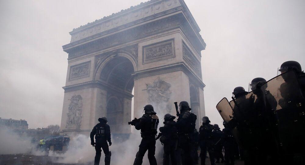 L'acte 9 des Gilets jaunes à Paris