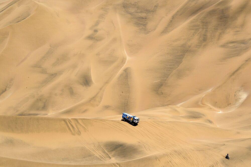 KAMAZ-Master au rallye-marathon Dakar au Pérou