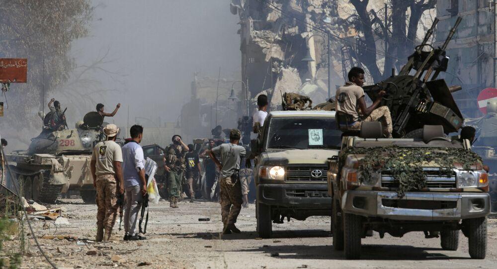 Soldats de l'Armée nationale libyenne (ANL) à Benghazi (photo d'archives )