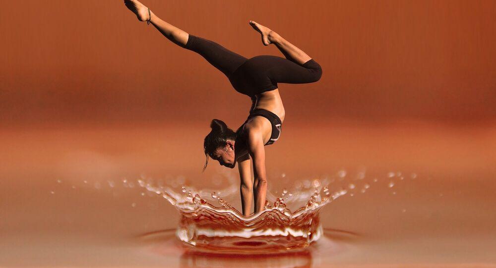 Une gymnaste (image d'illustration)