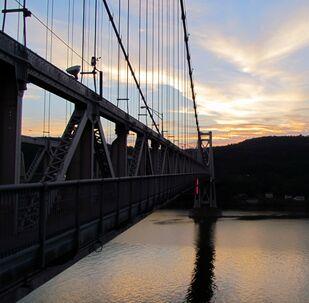 Un pont sur l'Hudson