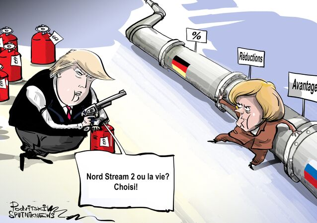 Nord Stream 2: les menaces entrent en jeu