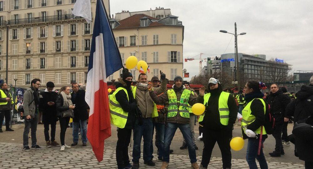 Acte 9: Gilets jaunes à Paris le 12 janvier 2019