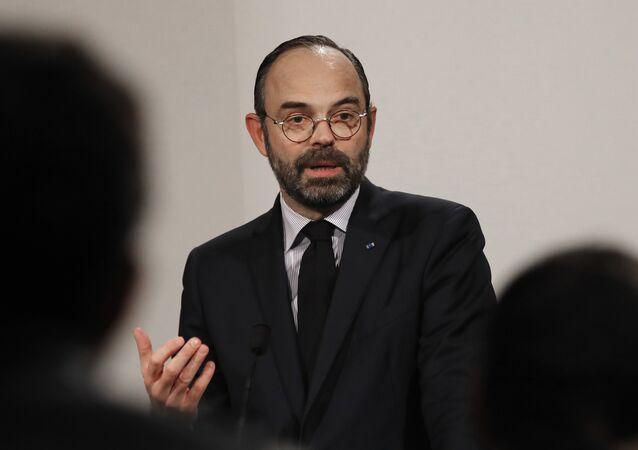 Édouard Philippe, le 9 janvier 2019