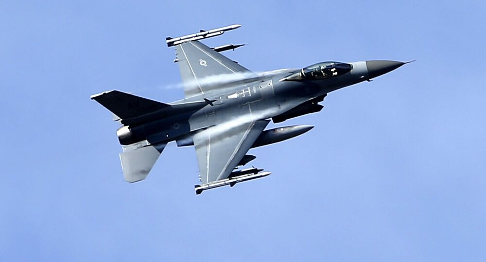 Un F-16 américain (archive photo)