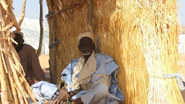 Gadji, déplacé dans un camp de la localité de Mémé à l'Extrême-Nord du Cameroun - Sputnik France