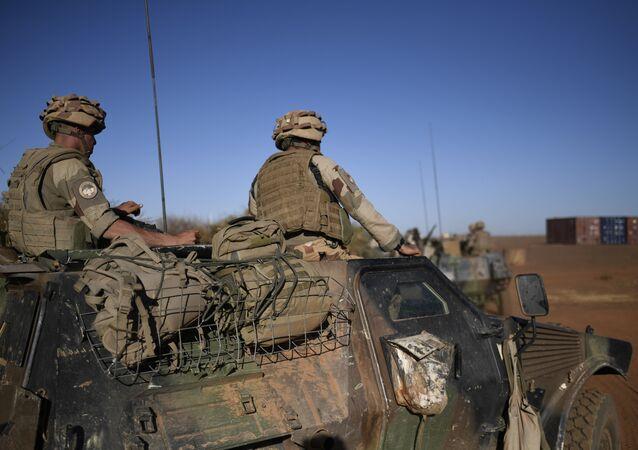 Des soldats français de la force Barkhane au Mali