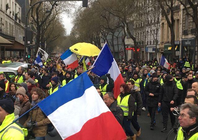 Gilets jaunes à Paris, le 19 janvier 2019