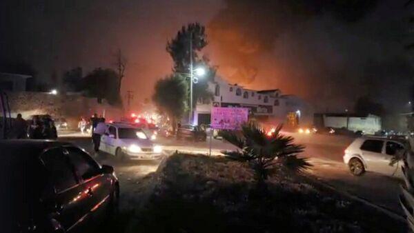 L'explosion d'un oléoduc au Mexique - Sputnik France