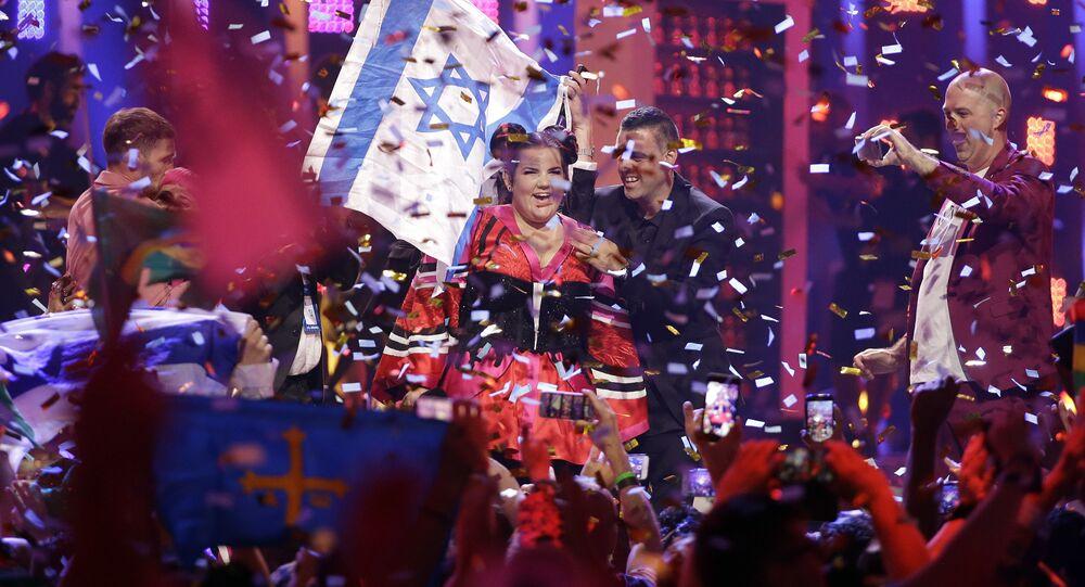 Netta remporte la finale du concours de la chanson Eurovision à Lisbonne, en 2018