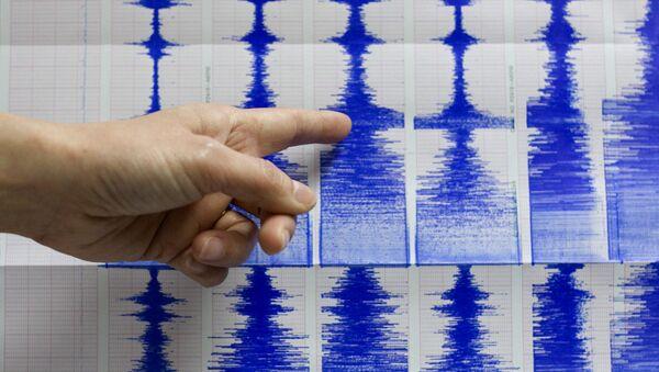 Un sismographe (image d'illustration) - Sputnik France