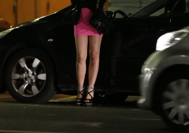Prostituée, photo d'illustration
