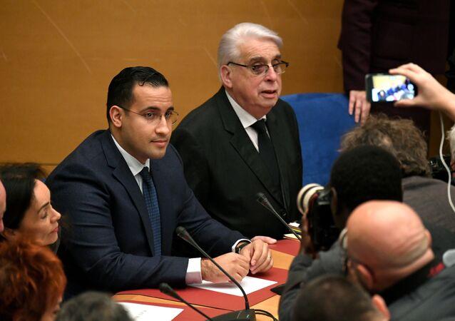 Alexandre Benalla devant la commission d'enquête du Sénat, archives