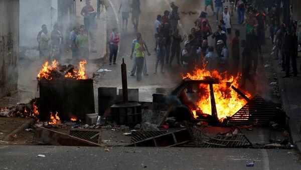 Protestations au Caracas - Sputnik France