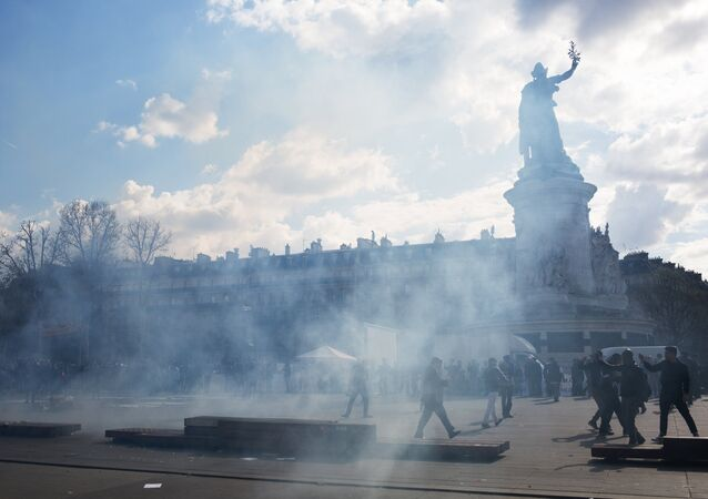 La place de la République à Paris (image d'archives)