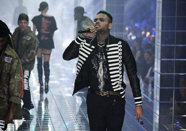 Chris Brown (photo d'archive)