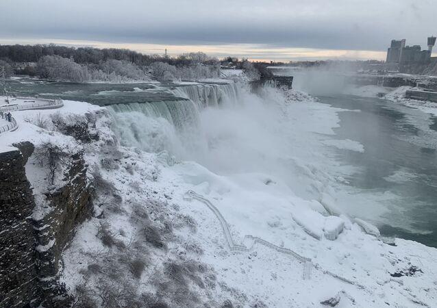 Chutes du Niagara, janvier 2019