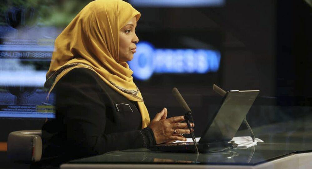 La présentatrice de Press TV Marzieh Hashemi