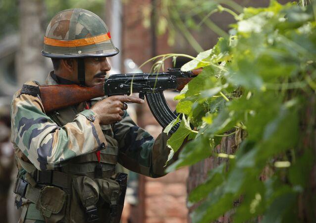 Militaire indien