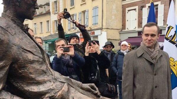 Le monument à la mémoire du Corbusier a été inauguré à Poissy le 24 janvier 2019 - Sputnik France