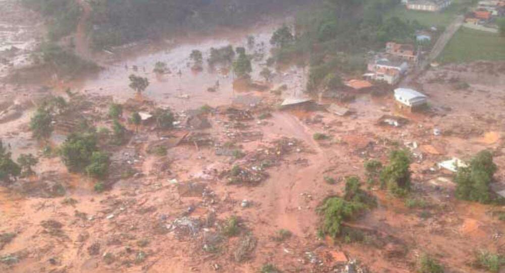 Rupture du barrage de déchets miniers de Bento Rodrigues (archive photo)