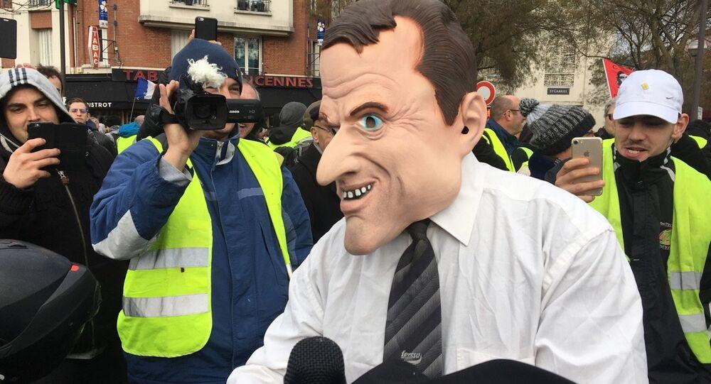 Acte 11 de Gilets jaunes à Paris, le 26 janvier 2019