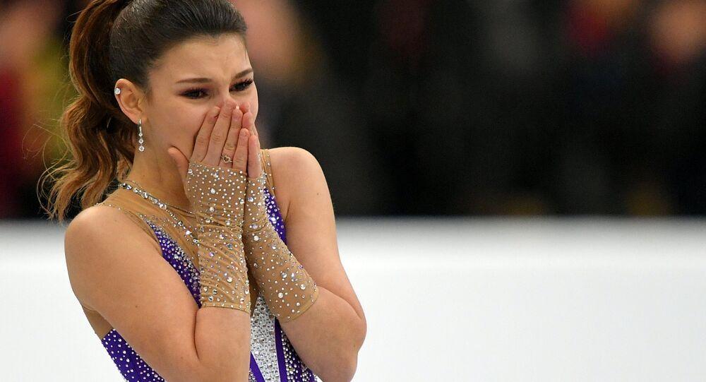 Sofia Samodourova, la nouvelle championne d'Europe de patinage artistique