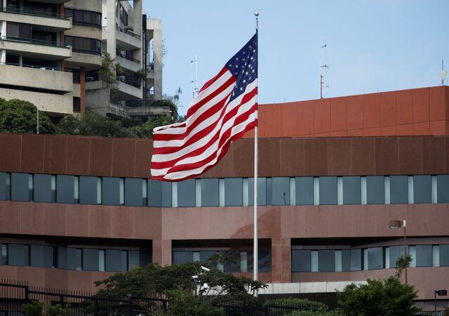L'ambassade des Etats-Unis à Caracas, au Venezuela