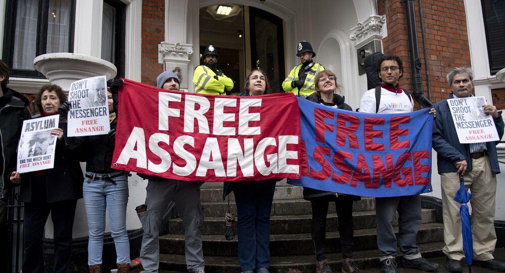 partisans de Julian Assange
