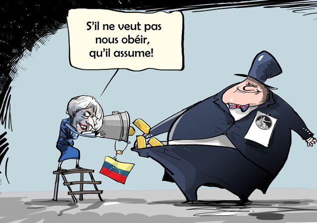 La Banque d'Angleterre refuse son or à Maduro