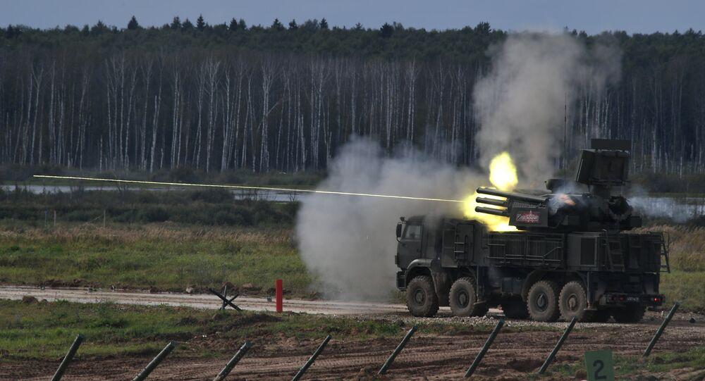 Le système antiaérien russe Pantsir-S1