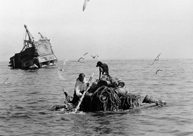 Image du film soviétique Vie et aventures de Robinson Crusoé de 1972