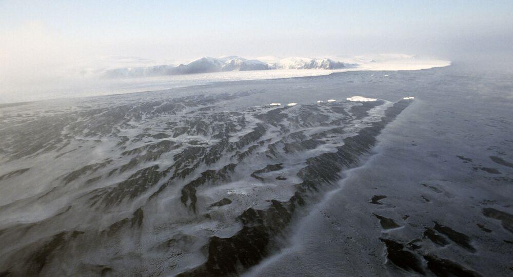 Île Wrangel en Arctique (image d'illustration)