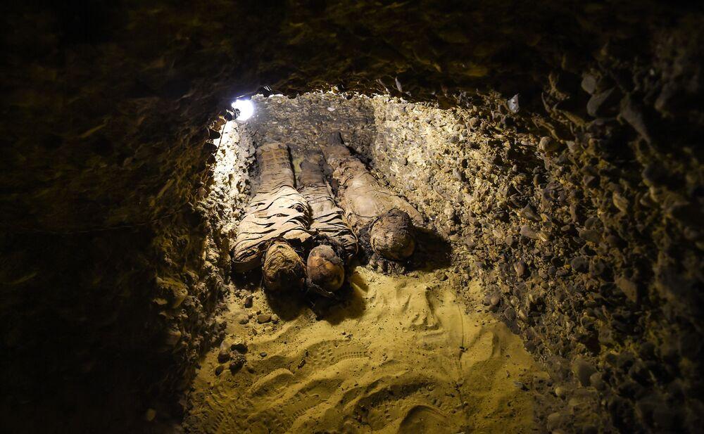 40 momies mises au jour dans une nécropole de l'Égypte ancienne