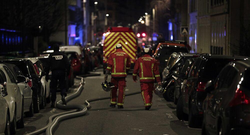 L'incendie dans le 16e arrondissement de Paris, le 5 février 2019