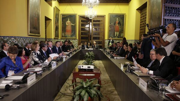 Réunion ministérielle du Groupe de Lima - Sputnik France
