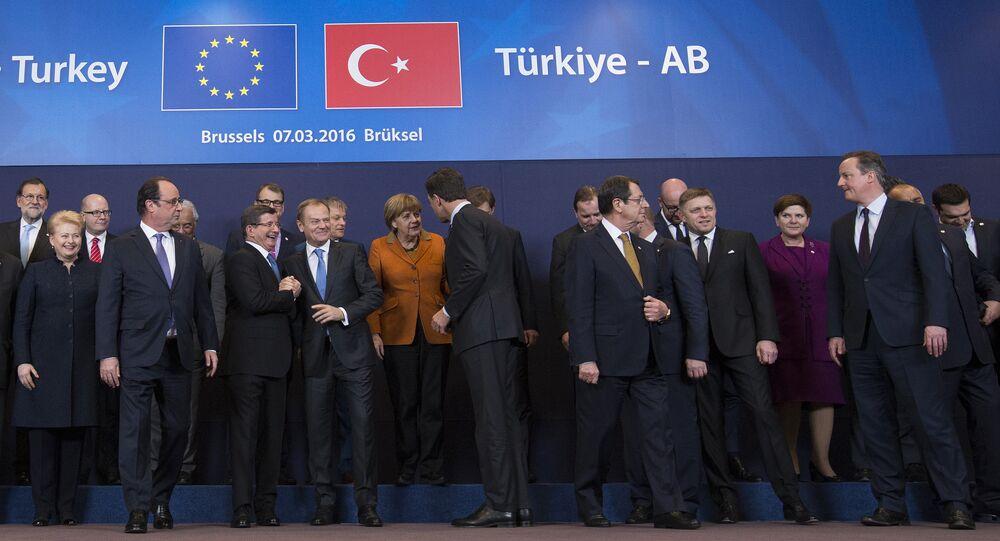 Avant la signature d'un accord UE-Turquie sur les migrants