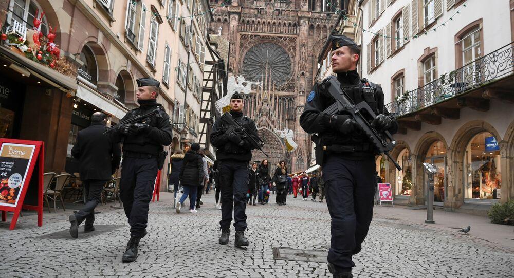 Strasbourg après l'attentat